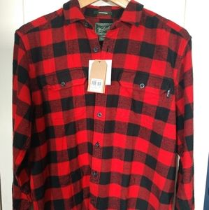 Woolrich Oxbow Bend Flannel Red Buffalo Check